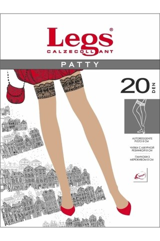 Чулки LEGS 230 PATTY 20 Den